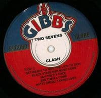 CULTURE Two Sevens Clash Vinyl Record LP Joe Gibbs Record Globe